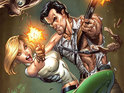 A crossover between Danger Girl and Army Of Darkness is announced.