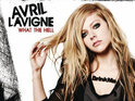 Avril Lavigne insists she is happy with the chart performance of her new single.