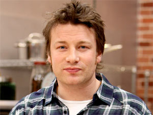 Jamie Oliver launches the second season of his Emmy-award winning 'Food Revolution' series in Los Angeles, California
