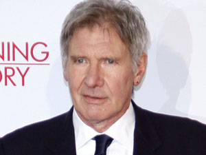 Harrison Ford at the German premiere of 'Morning Glory' in Berlin