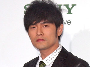 Jay Chou at the premiere of 'The Green Hornet' in Hollywood