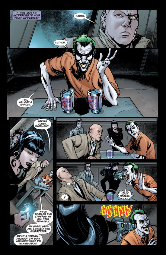 Joker meets Lex Luthor