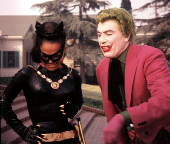 Eartha Kitt and Cesar Romero