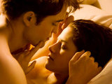 Bella and Edward in Twilight: Breaking Dawn