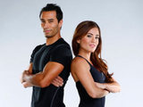 Brett Hoebel and Cara Castronuova from The Biggest Loser