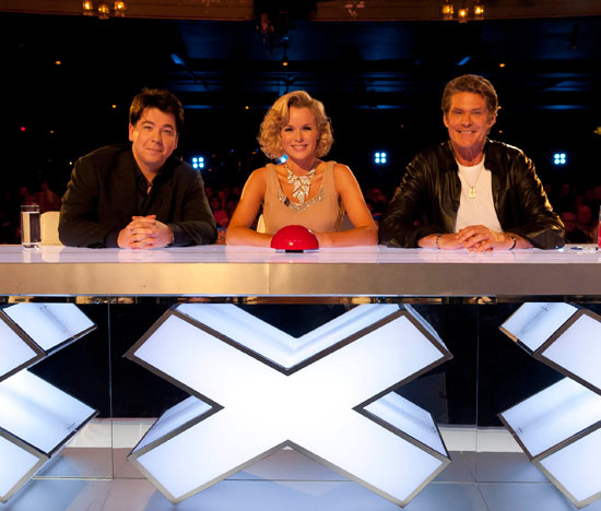 The new judges of BGT