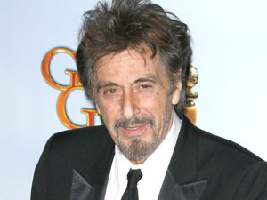 Al Pacino at the 68th Annual Golden Globe Awards