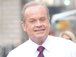 Kelsey Grammer on the film set of 'I Don't Know How She Does It'