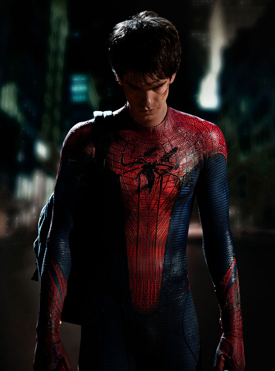 Andrew as Spiderman