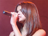 Selena Gomez performing live in Puerto Rico