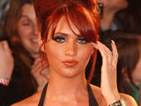 Amy Childs at the National Television Awards