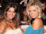 Brooke Vincent and Sacha Parkinson at the National Television Awards