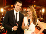Steve Jones and Kimberley Walsh