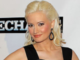 Holly Madison at the Las Vegas premiere of 'The Mechanic'