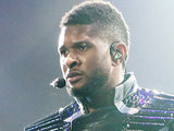 Usher performing live at Bercy Paris, France