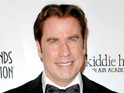 Kelly Preston says her newborn son Benjamin takes frequent airplane flights with dad John Travolta.