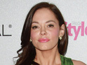 A man accused of stalking actress Rose McGowan is arrested.