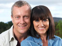 Stephen Tompkinson admits that filming with animals for Wild At Heart can prove dangerous.