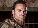 Spartacus star Dustin Clare compares his sex scenes on the show to filming fight sequences.