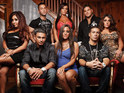 "The Jersey Shore cast's trip to Italy is delayed due to a ""logistical problem""."