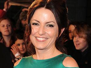 Davina McCall at the National Television Awards
