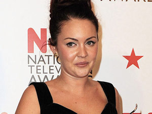 Lacey Turner at The National Television Awards 2011