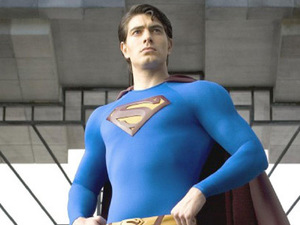 Brandon Routh as Superman in 'Superman Returns'
