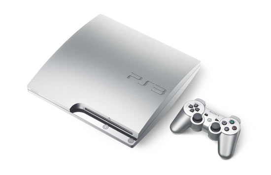 Satin Silver PlayStation 3