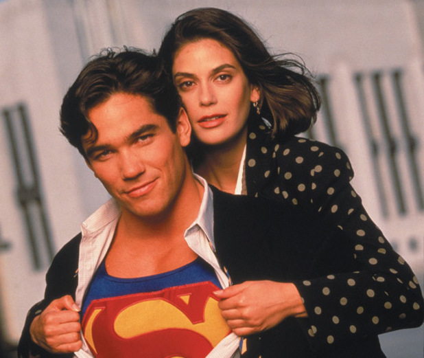 Dean Cain and Teri Hatcher in 'Lois & Clark: The New Adventures Of Superman'