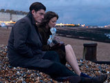 Sam Riley and Andrea Riseborough in 'Brighton Rock'