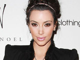 "Kim Kardashian at the launch of her new jewelry collection ""Belle Noel"""