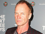 Sting at the premiere of 'Next Three Days' held at the Entertainment Quarter, Sydney
