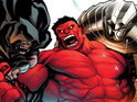 Marvel Comics releases a teaser of a set of new enemies for Red Hulk.
