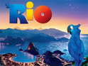 Animated movie Rio debuts in first place at the UK box office.