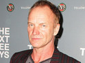 Sting is reportedly photographed cosying up to a young woman in a bikini on a boat in Australia.