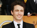 James Franco says that he suffered injury on the set of 127 Hours.