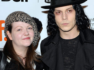 Meg and Jack White aka 'The White Stripes'