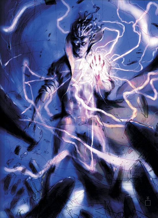Static Shock #1 artwork teaser