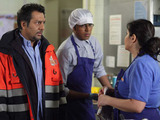 Masood is furious and unable to believe that Yusef is their new GP.