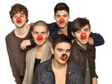 The Wanted supporting Comic Relief