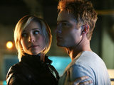 Smallville S10E12 &#39;Collateral&#39;: Chloe and Oliver