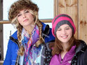 DS grills Felicity Jones and Tamsin Egerton about Brit comedy Chalet Girl.