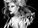 Lady GaGa continues to lead the US charts with 'Born This Way'.