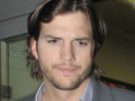 Ashton Kutcher claims that George W. Bush was mean to him during this year's Super Bowl game.