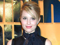 Dianna Agron says that she was nervous about stunts like the ones in I Am Number Four.