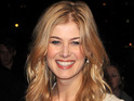 "Rosamund Pike says filming Wrath of the Titans is like ""walking into chaos""."