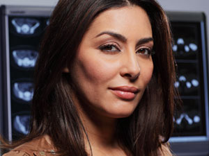 Sahira Shah from Holby City