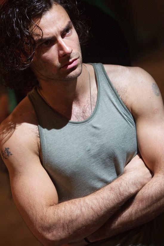 Aidan in a vest