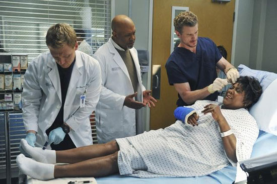 Owen Hunt, Richard Webber and Mark Sloan
