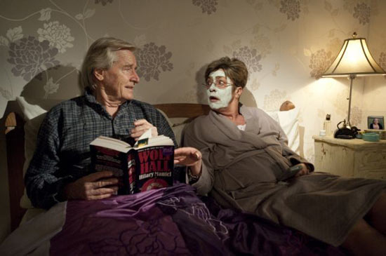 Ken and Deirdre in bed